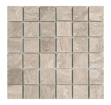 Mosaico Ardoise Ecru Grip 30x30