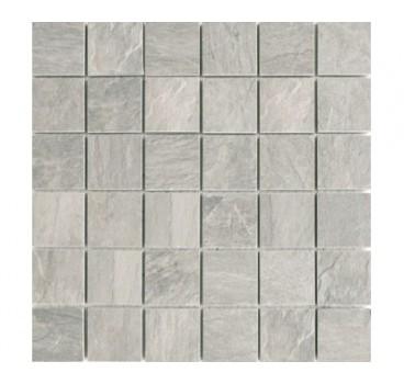 Mosaico Ardoise Gris Grip 30x30