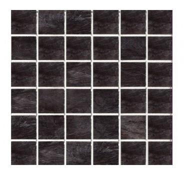 Mosaico Ardoise Noir Grip 30x30
